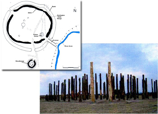 Settlement and Timber circle